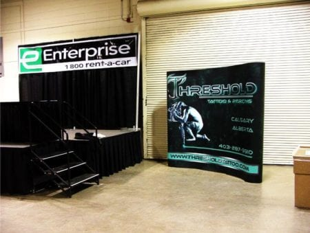 Tradeshow booth signage